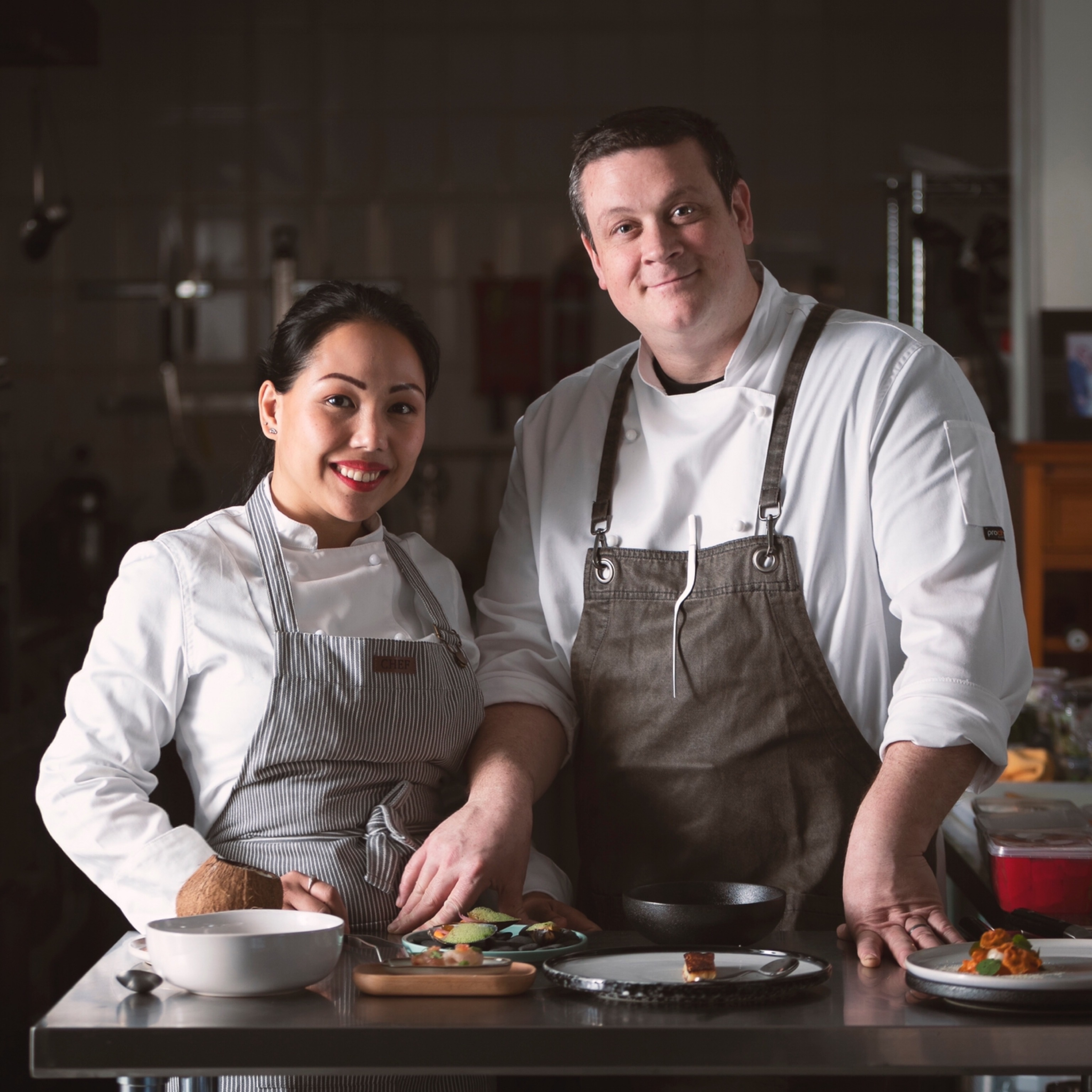 Mr and Mrs Chef